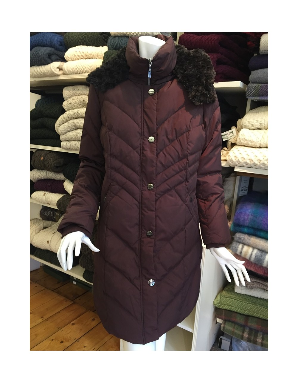 Beaumont Amsterdam Down Filled Coat|Coats|Special Offer|Irish Handcrafts -1