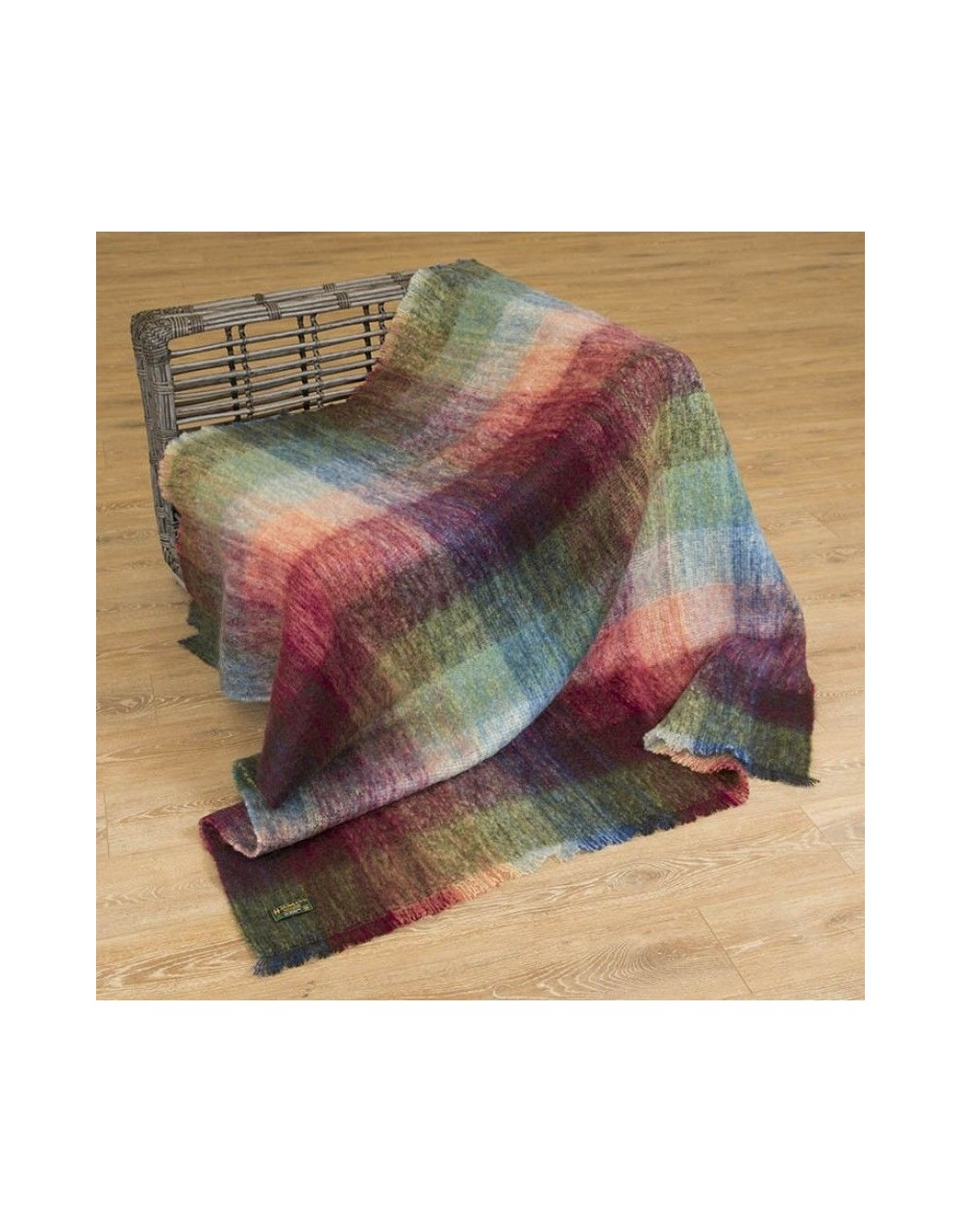 Large Mohair Throw Ref LM502|Irish Made Throws|Irish Handcrafts 1