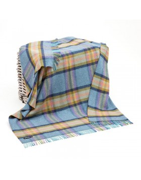 Merino Cashmere Throw Ref 1462|Irish Made Throws|Irish Handcrafts -1
