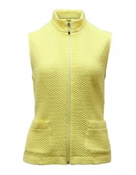 Barbara Lebek Cotton Rich Gilet Outerwear Irish Handcrafts -1