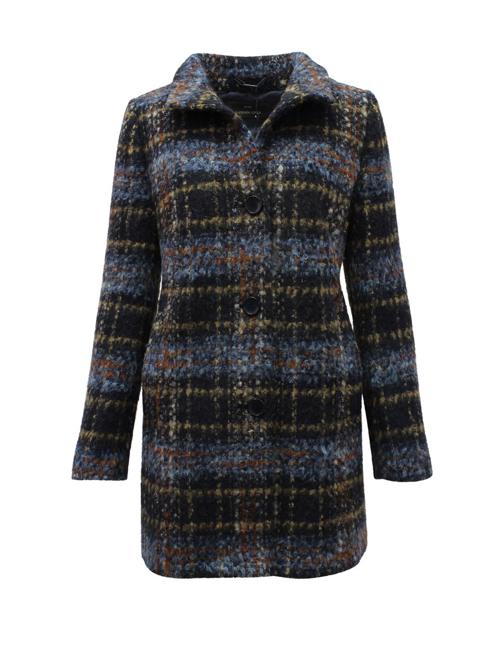Barbara Lebek Wool Rich Coat Lebek AW2019 30400019 Irish Handcrafts-1