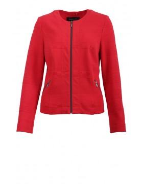 Lebek Cotton Rich Fashion Jacket in Red|Lebek|Irish Handcrafts