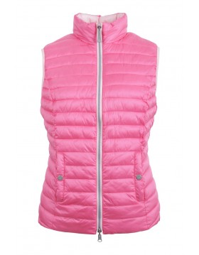 Lebek Reversible Pink Lady Gilet|Lebek|55110002|Irish Handcrafts -1