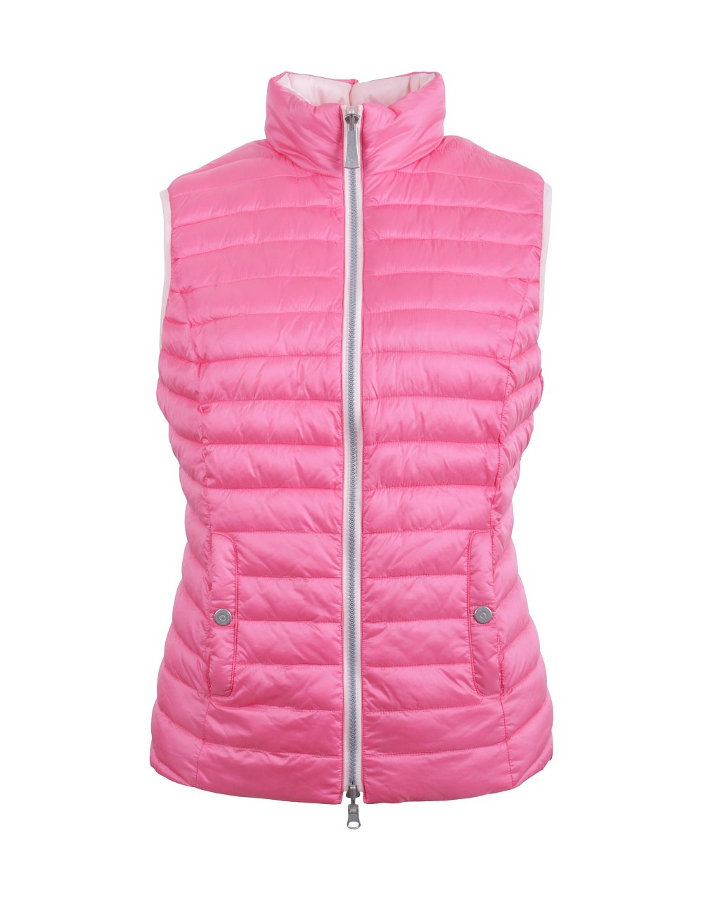 Lebek Reversible Pink Lady Gilet|Lebek|55110002|Irish Handcrafts -1