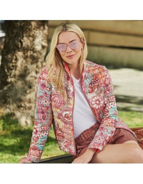 Lebek Reversible Jacket Paisley Print|Jackets and Gilets|Irish Handcrafts -1