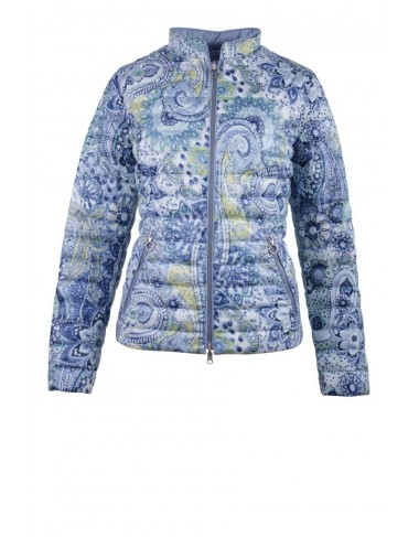 Lebek Reversible Jacket Blue Paisley Print|New Season Lebek|Irish Handcrafts 1