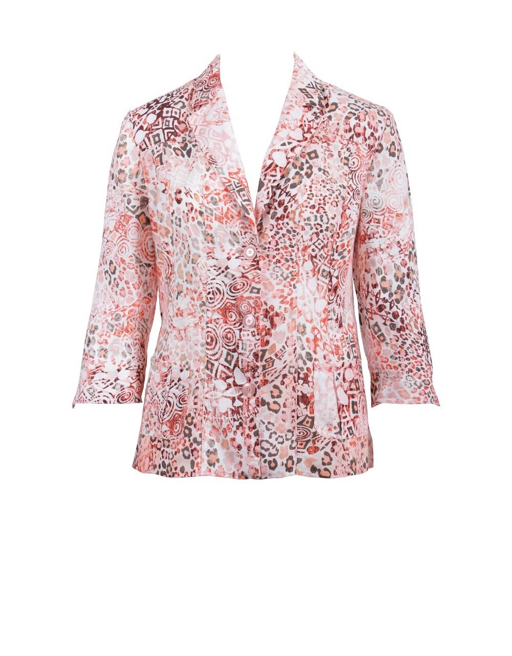 Lebek Linen Jacket|Lebek Fashion Clothing|58580002|Irish Handcrafts -1
