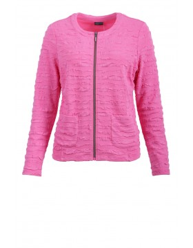 Barbara Lebek Pink Lady Ruffle Jacket|55100002|Irish Handcrafts
