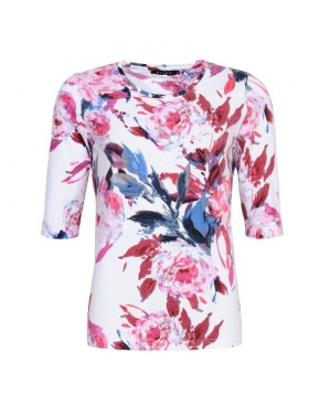 Micha Floral Pink Cotton Top|Tops Blouses & Accessories|Irish Handcrafts 1