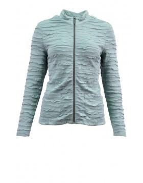 Lebek Ruffle Jacket Barbara Lebek Clothing 16450002 Irish Handcrafts