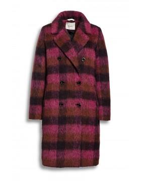 Beaumont Amsterdam Fushia Check Coat|Beaumont Coats|Irish Handcrafts 1