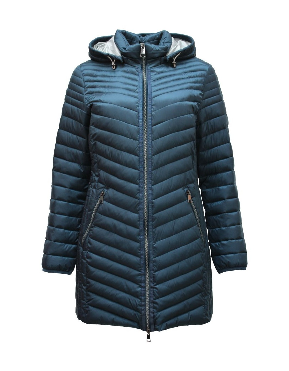 Lebek Quilted Jacket Optic Down|Barbara Lebek Outerwear|Irish Handcrafts 1