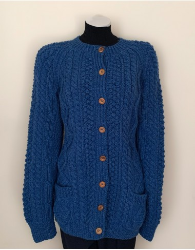 Irish Handknitted Aran Fisherman Cardigan|Handknitted Arans|Irish Handcrafts 1