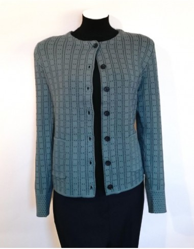 Castle Knitwear Tiffany Jacquard Cardigan Jacket|Irish Handcrafts 1