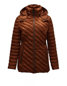 Lebek Quilted Jacket With Detachable Hood|Outerwear|Irish Handcrafts 1