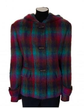 Donegal Design Short Duffle Coat|Coats|Irish Handcrafts 1