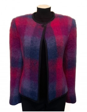 Donegal Design Mohair Jacket|Jackets and Gilets|Outerwear|Irish Handcrafts 1
