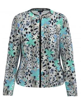 Barbara Lebek Floral Print Summer Jacket|Lebek Clothing|Irish Handcrafts 1