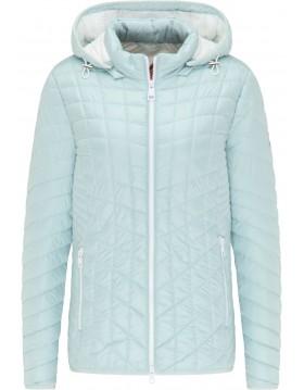 arbara Lebek Quilted Jacket In Mint|Lebek Clothing|Irish Handcrafts 1