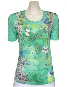 Lebek Jungle Print Summer Top|Lebek Clothing|Irish Handcrafts 1