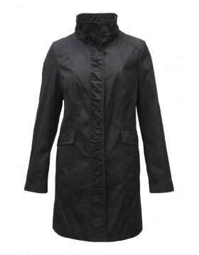 Barbara Lebek Satin Crinkle Jacket|Lebek Outerwear|Irish Handcrafts 1