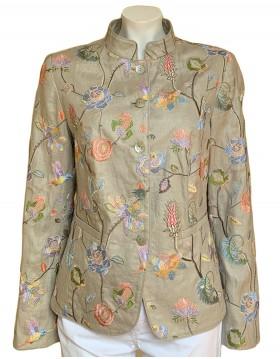 White Label Linen Jacket 826212 Rofa Fashions Irish Handcrafts 1