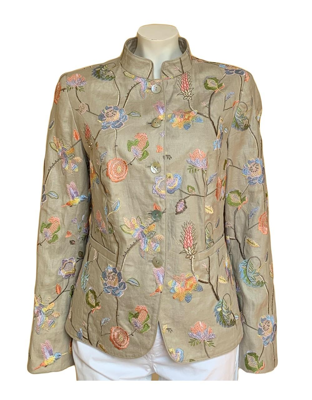 White Label Linen Jacket|826212|Rofa Fashions|Irish Handcrafts 1