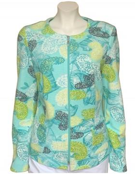 Barbara Lebek Paisley Jacket|Outerwear|Lebek|Irish Handcrafts 1