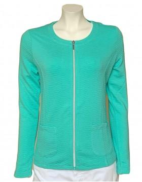 Barbara Lebek Peppermint Summer Jacket|Lebek|Irish Handcrafts 1