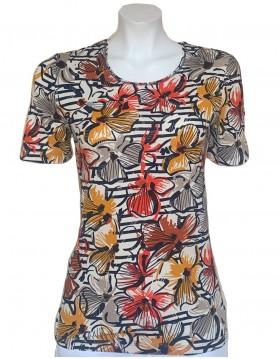 Barbara Lebek Floral Print Top|Lebek Clothing|Irish Handcrafts 1
