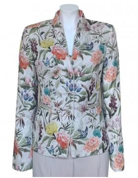 White Label Linen Rich Jacket - Yellow|Rofa Fashion Group|Irish Handcrafts 1