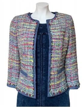 Rofa Multi Color Boucle Jacket|Rofa Fashions|Irish Handcrafts 1
