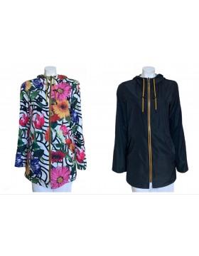 Rever Mile Reversible Coat in Black|ReveR Mile Outwear|Irish Handcrafts 1