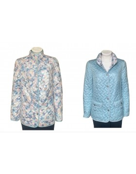 Lebek Quilted Reversible Jacket|Womens Outerwear|Irish Handcrafts 1