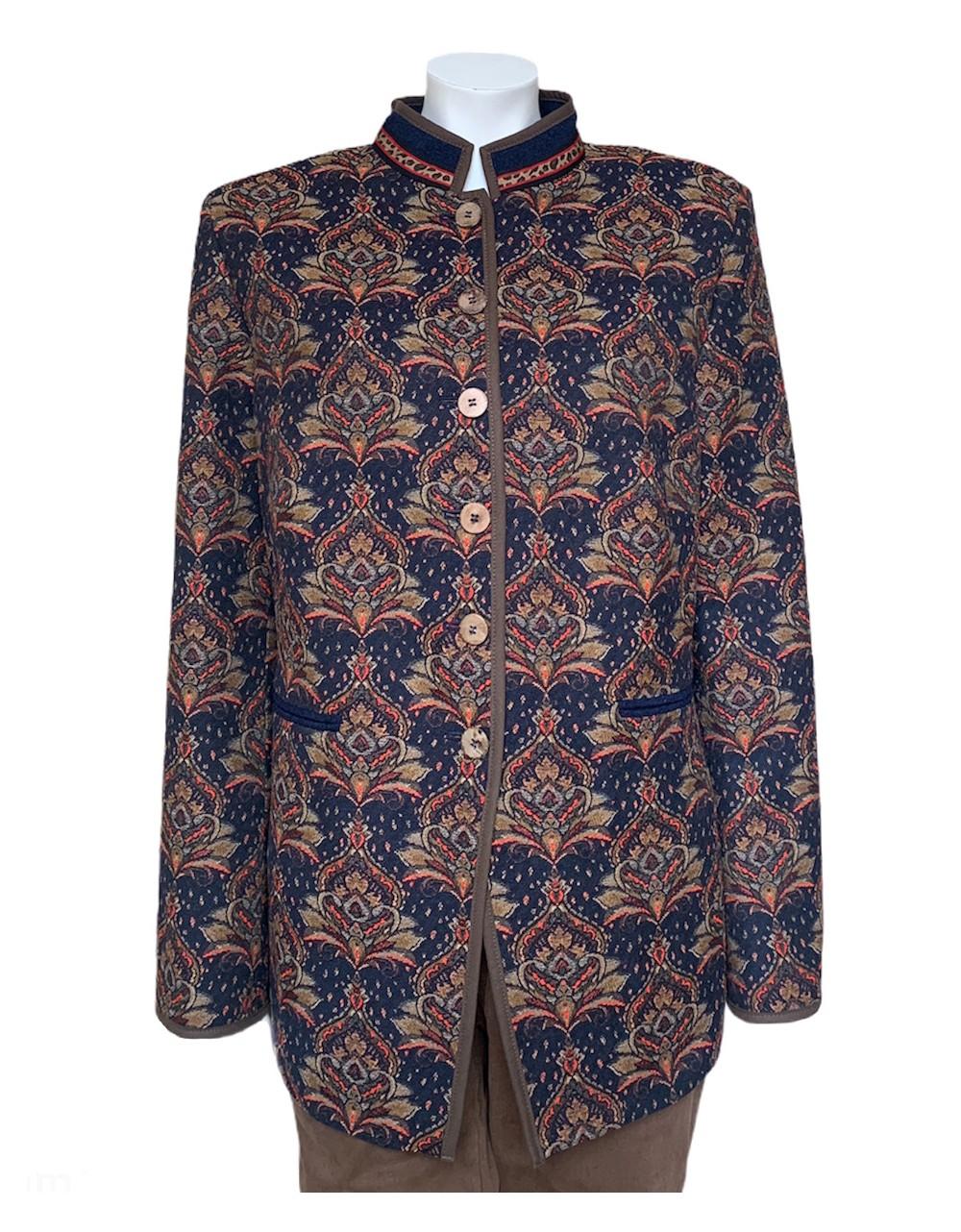 Rofa Moden Tapestry Design Jacket Irish Handcrafts 1