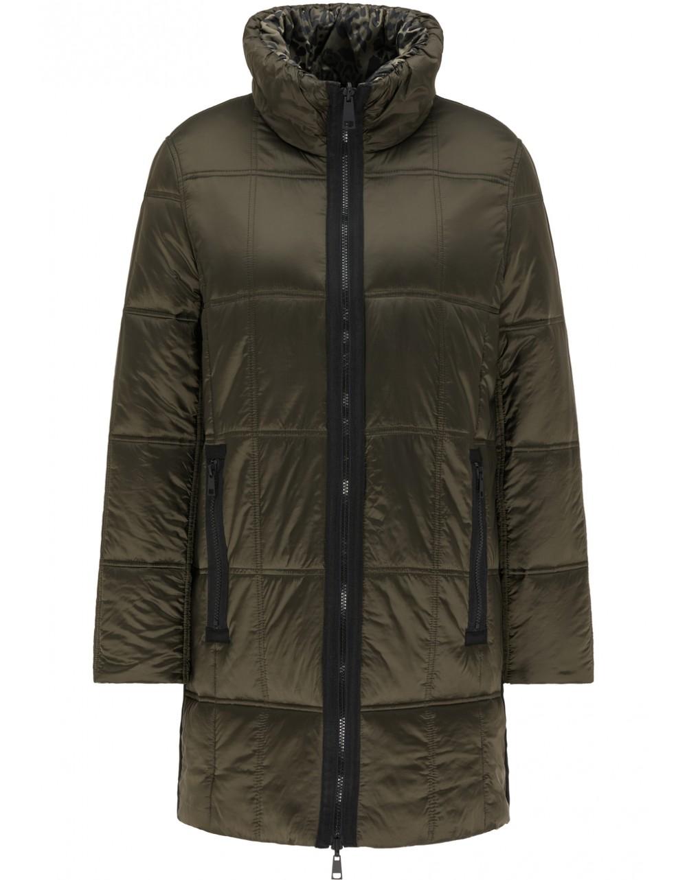 Lebek Reversible Long Quilted Jacket|Lebek Outerwear|Irish Handcrafts 1