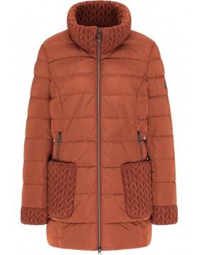 Barbara Lebek Jacket Rust|30310012|Lebek Outerwear|Irish Handcrafts 1