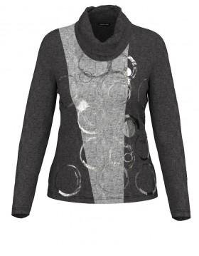 Barbara Lebek Cowl Neck Top| Lebek Clothing| Irish Handcraft 1