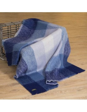 Large Mohair Throw Ref LM518|Irish Made Throws|Irish Handcrafts -1