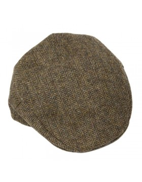 Tweed Cap Brown Herringbone TCJ05|Irish Tweed Caps| Irish Handcrafts