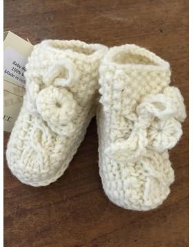 Handknitted Aran Baby Bootees|Kids|Handknitted Arans|Irish Handcrafts